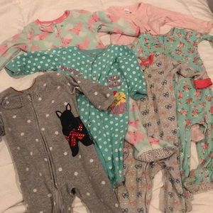 Other - Girl 9-12 month pj bundle